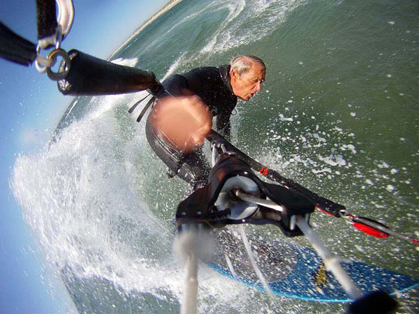 doyle kiteboarding wave carve